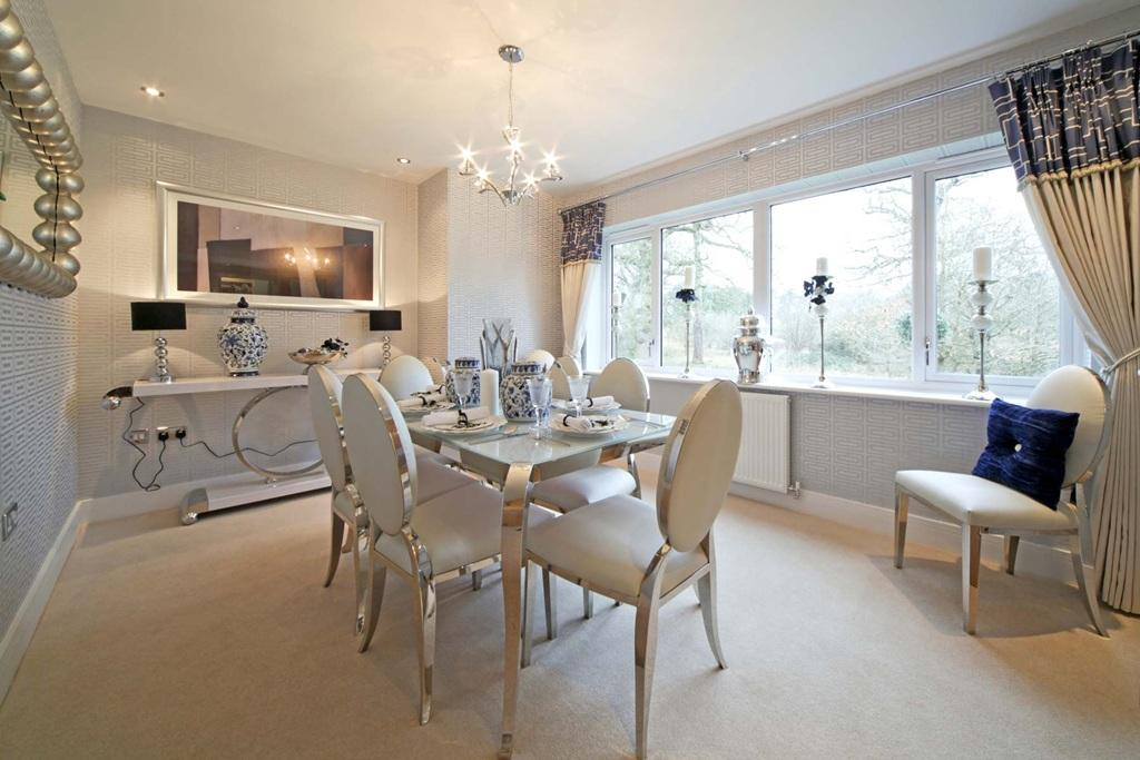 show home dining room | 5 bedroom detached house for sale in Birling Road ...