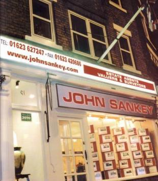 John Sankey, Mansfieldbranch details