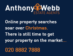Get brand editions for Anthony Webb Estate Agents, Palmers Green