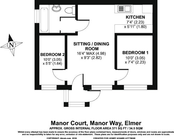 Floor Plan Bungalow