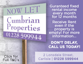 Get brand editions for Cumbrian Properties, Carlisle - Lettings