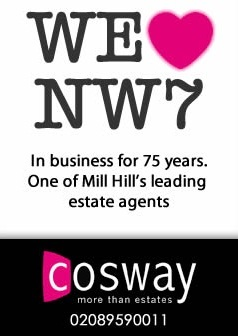 Cosway Estates, Mill Hillbranch details