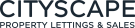 Cityscape Property, Glasgow logo