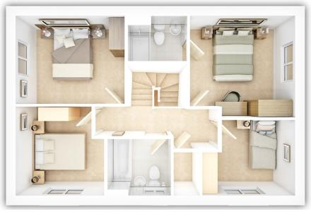 The Kentdale first floor plan