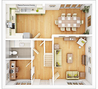 The-Wilton-PB52-3D-Ground-Floorplan-Dragonfly-Meadow
