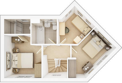 The-Rosedale-3D-First-Floorplan-Dragonfly-Meadow