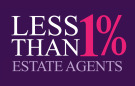 LESS THAN 1%, Northampton branch logo