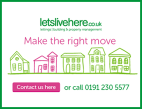 Get brand editions for letslivehere, Lettings