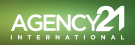 Agency 21 International, London branch logo