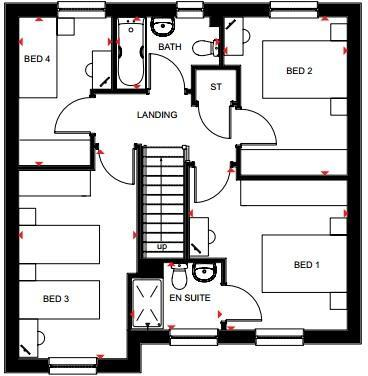 Invercauld first floor
