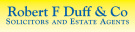 Robert F Duff & Co, Largs logo