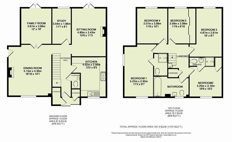 Bedroom Semi Detached House Floor Plans Wwwredglobalmxorg - 5 bedroom house designs uk