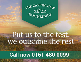 Get brand editions for Carrington Partnership, Stockport