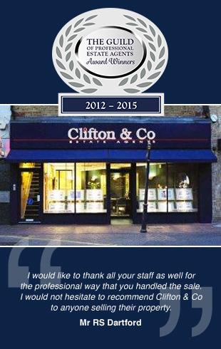 Clifton & Co Estate Agents, Dartfordbranch details