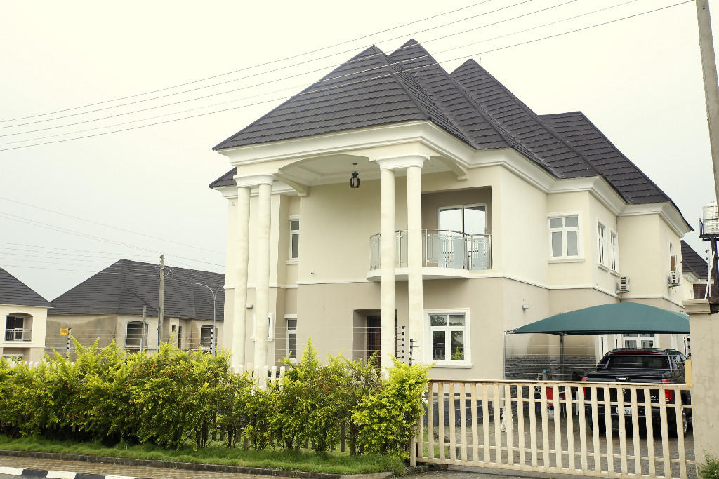 Detached property in Abuja...