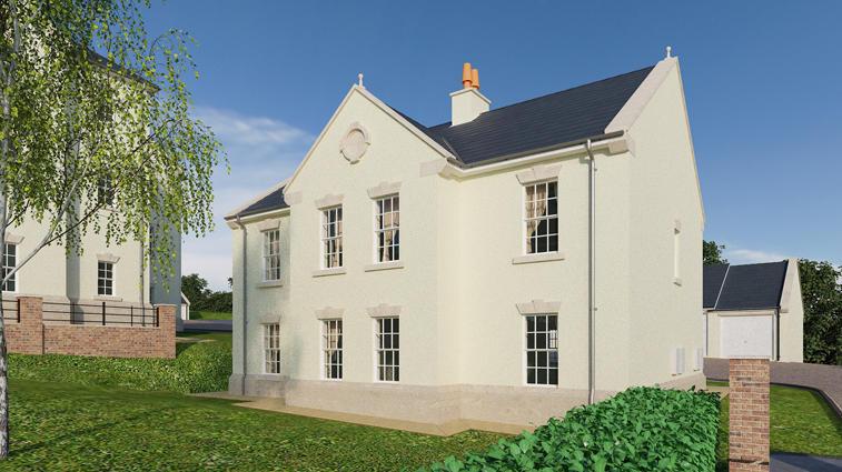 Cumbrian Homes,Rear Elevation