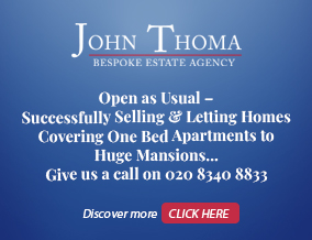 Get brand editions for John Thoma Bespoke Estate Agency, Chigwell Branch