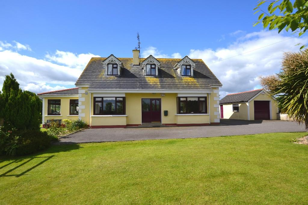 Detached home for sale in Carnew, Wicklow