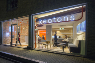 Keatons, Canary Wharfbranch details