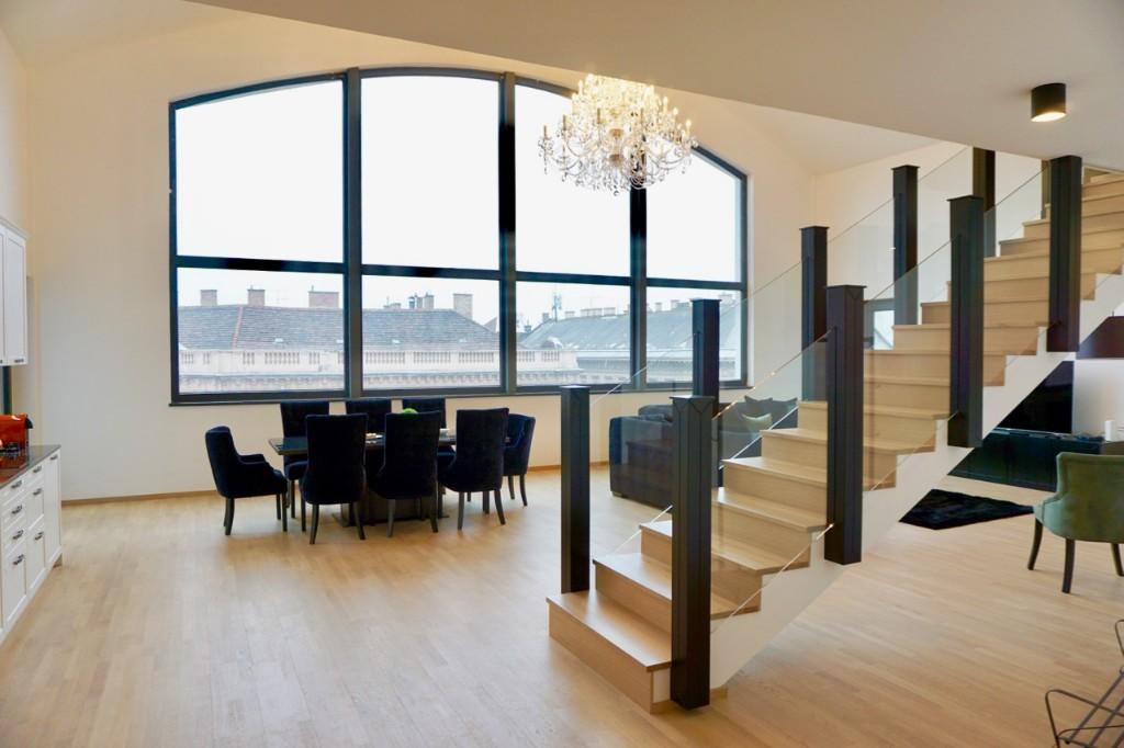 3 bed Duplex in District V, Budapest