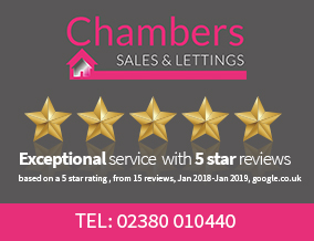 Get brand editions for Chambers Sales and Lettings, Bursledon