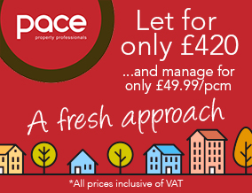 Get brand editions for PACE Property Lettings and Management Ltd, Southend-on-Sea Lettings