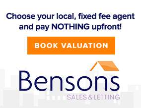 Get brand editions for Bensons Estate Agents, East Kilbride