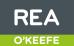 REA, O'Keeffe logo