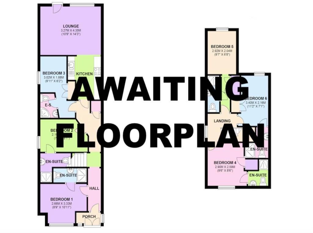 Awaiting floorplan