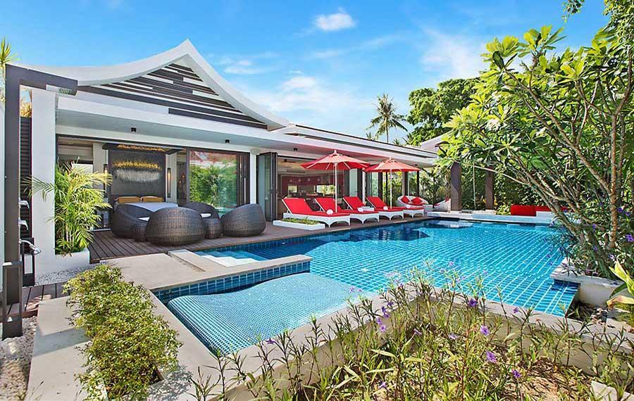5 bedroom Villa in Hua Thanon, Koh Samui...