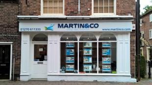 Martin & Co, Nantwich - Lettings & Salesbranch details