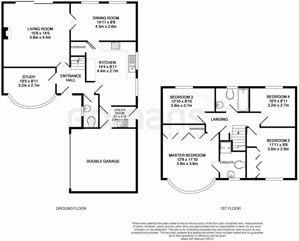 Redrow Oxford Floor Plan 4 Bedroom Detached House For Sale In Huson Road Warfield
