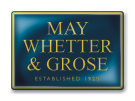 May Whetter & Grose, St Austell logo