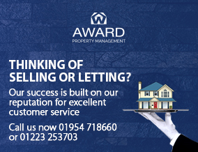 Get brand editions for Award Property, Cambridge