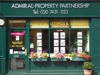 Admiral Property Partnership Ltd, Londonbranch details