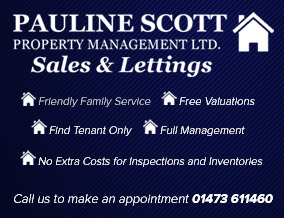 Get brand editions for Pauline Scott Property Management, Martlesham