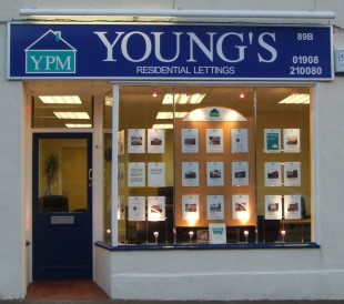 Youngs Property Management, Newport Pagnellbranch details