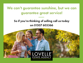 Get brand editions for Lovelle Estate Agency , Louth - Sales