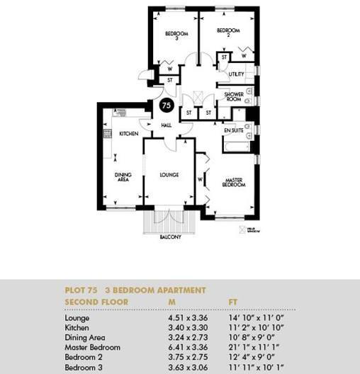Plot 75, Second Floor