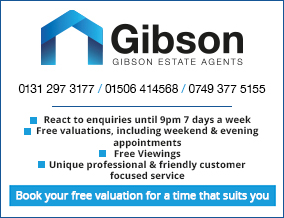 Get brand editions for Gibson Estate Agents, Edinburgh
