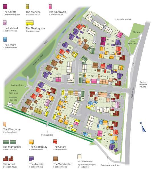 Moreteyne Park New Homes Development by Bovis Homes Northern Home – Bovis Homes Floor Plans