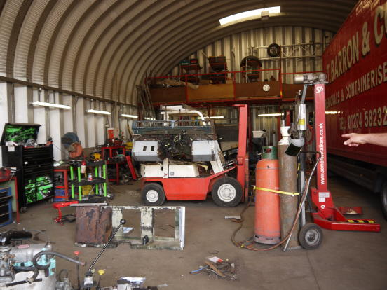 Huge Freehold Site Prime Location Auto Repair Garage: Garage For Sale In Vehicle Repairs & MOT, BD17