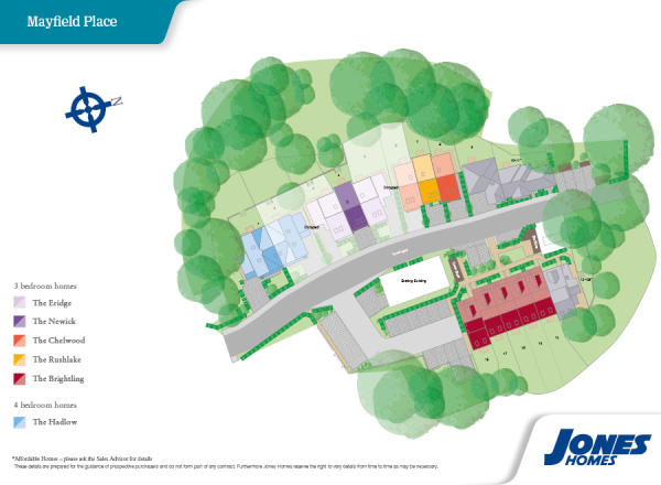 Mayfield place new homes development by jones homes - Oxted swimming pool opening hours ...