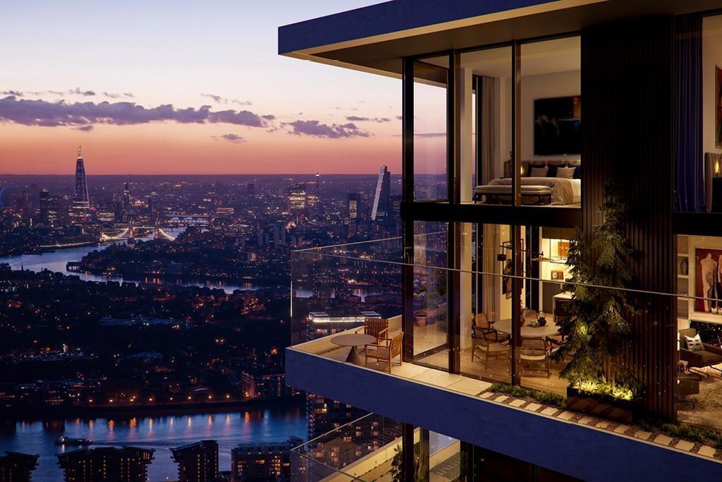 Wardian London,Window