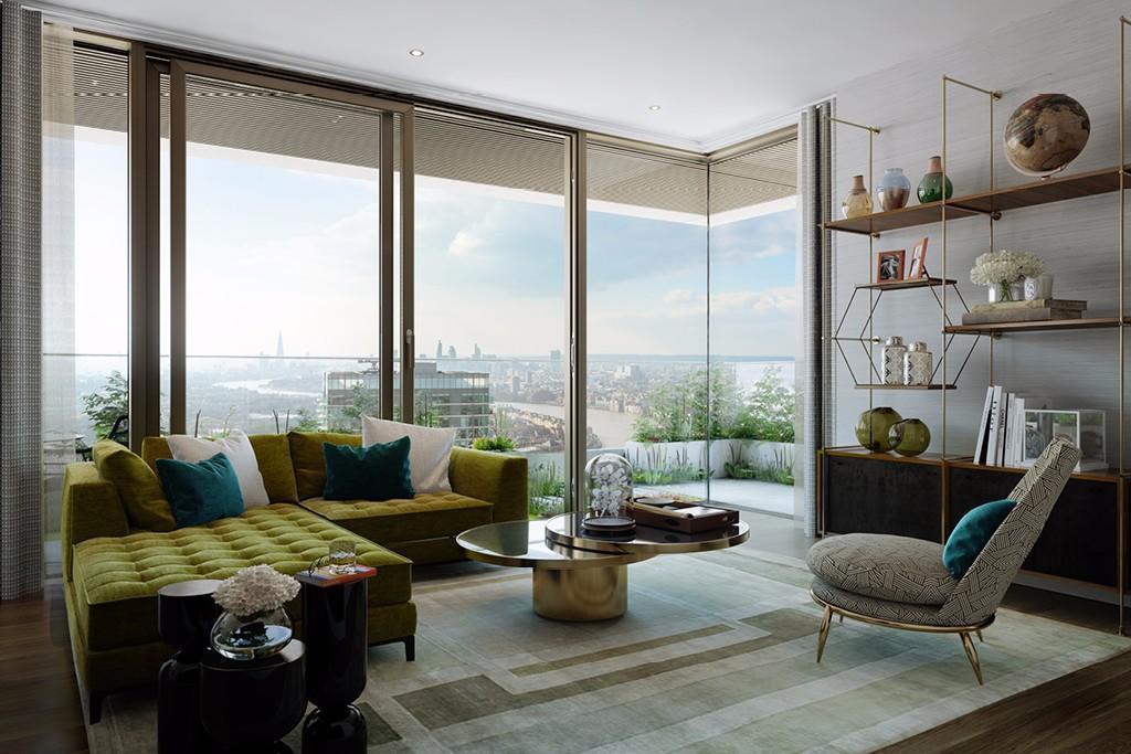 Wardian London,Family room