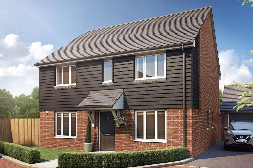 Taylor Wimpey,Front Elevation