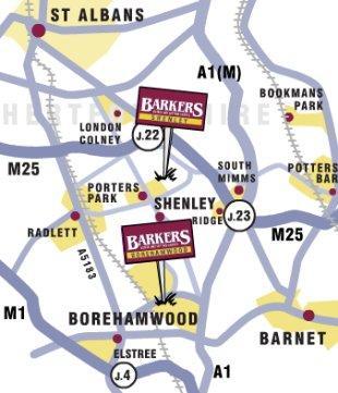 Barkers, Shenleybranch details