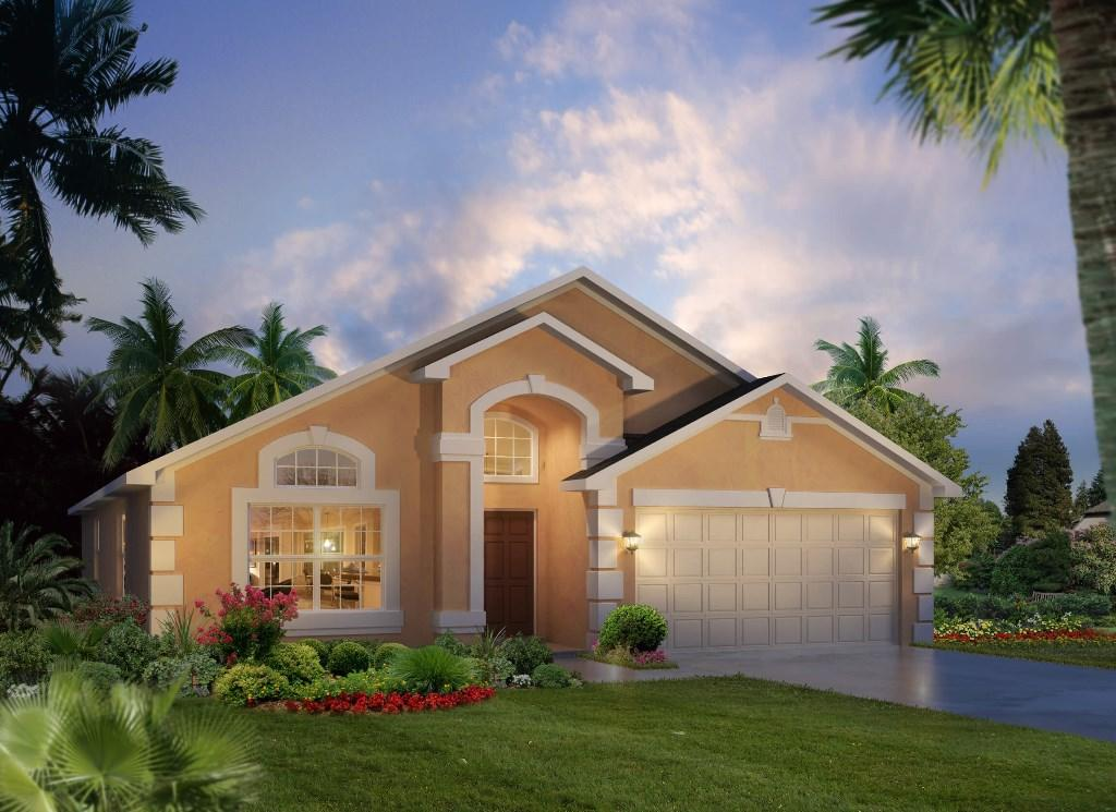4 bed new home in Davenport, Polk County...