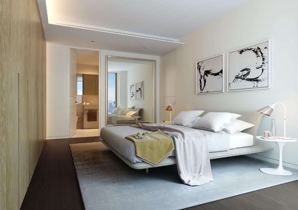 Squire and Partners,Master Bedroom