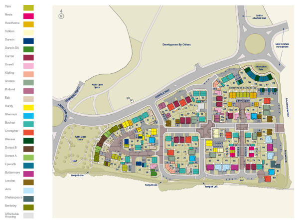 Pinderfields Hospital Map City Fields New Homes Development by Miller Homes Yorkshire Pinderfields Hospital Map